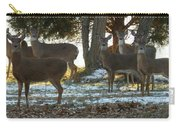 Eleven Deer Standing Carry-all Pouch