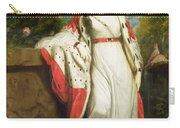 Elizabeth Gunning - Duchess Of Hamilton And Duchess Of Argyll Carry-all Pouch by Sir Joshua Reynolds