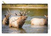 Elk Bugle Estes Lake Colorado Carry-all Pouch