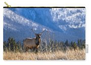 Elk In Forest, Banff National Park Carry-all Pouch