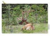 Elk In Jasper National Park Carry-all Pouch