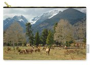 Elk In The Rockies Carry-all Pouch