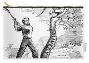 Emancipation Cartoon, 1862 Carry-all Pouch
