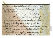 Emancipation Proc., P. 2 Carry-all Pouch by Granger