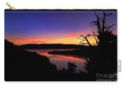 Emerald Bay Morning Carry-all Pouch