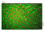 Emerald Coral Carry-all Pouch