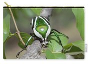 Emerald Fruit Chafer Beetle Carry-all Pouch