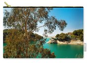 Emerald Lake With Duke House I. El Chorro. Spain Carry-all Pouch