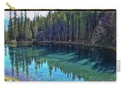 Emerald Mountain Pond Carry-all Pouch