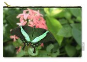 Emerald Swallowtail Carry-all Pouch