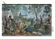Emigrants: Arkansas, 1874 Carry-all Pouch by Granger