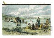 Emigrants In Nebraska, 1859 Carry-all Pouch by Granger