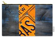 Empire State Building Nyc License Plate Art Carry-all Pouch
