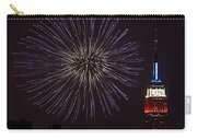 Empire State Fireworks Carry-all Pouch by Susan Candelario