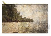 Empty Tropical Beach 2 Carry-all Pouch