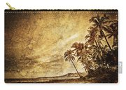 Empty Tropical Beach 3 Carry-all Pouch