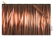 Enamel Coated Copper Wire Carry-all Pouch by Photo Researchers