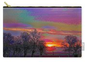 Enameled Sunrise Of Northern California Carry-all Pouch