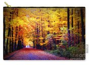 Enchanted Fall Forest Carry-all Pouch by Carol Groenen