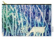 Enchanted Winter Forest Carry-all Pouch
