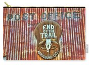 End Of The Trail Carry-all Pouch