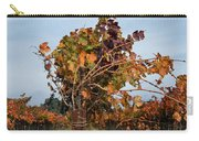 End Of The Vineyard Row Carry-all Pouch