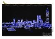 Energetic Atlanta Skyline - Digital Art Carry-all Pouch