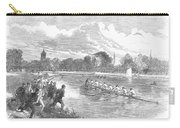 England: Boat Race, 1866 Carry-all Pouch