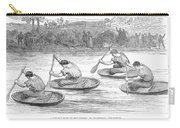 England: Coracle Race, 1881 Carry-all Pouch