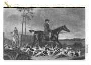 England: Fox Hunt, 1832 Carry-all Pouch