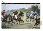 England: Polo, 1902 Carry-all Pouch