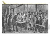 England: Soup Kitchen, 1862 Carry-all Pouch by Granger