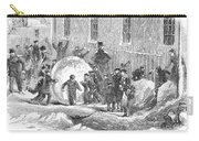 England: Winter, 1855 Carry-all Pouch
