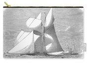 England: Yacht Race, 1868 Carry-all Pouch