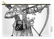 English Archer, 1634 Carry-all Pouch by Granger