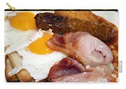 English Breakfast Carry-all Pouch