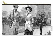 English Couple, 1883 Carry-all Pouch