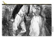 English Couple, C1870 Carry-all Pouch