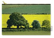 English Field Of Yellow 2 Carry-all Pouch