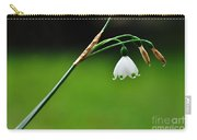 English Snowdrop Carry-all Pouch
