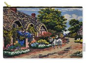 English Tapestry Carry-all Pouch