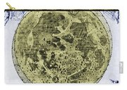 Engraving Of Moon, 1645 Carry-all Pouch