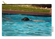 Enjoying A Swim Carry-all Pouch