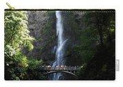 Enjoying Multnomah Falls Carry-all Pouch