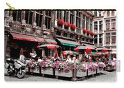 Enjoying The Grand Place Carry-all Pouch