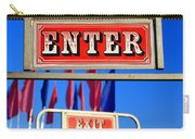 Enter And Exit Signs Carry-all Pouch