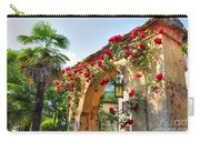 Entrance Arch With Flowers Carry-all Pouch