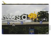 Entrance Gate For Sentosa Island In Singapore Carry-all Pouch