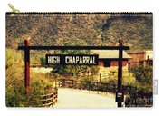 Entrance To The High Chaparral Ranch Carry-all Pouch