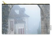 Entryway To St Cirq In The Fog Carry-all Pouch